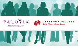 PaloVia laser teams up with Dress For Success